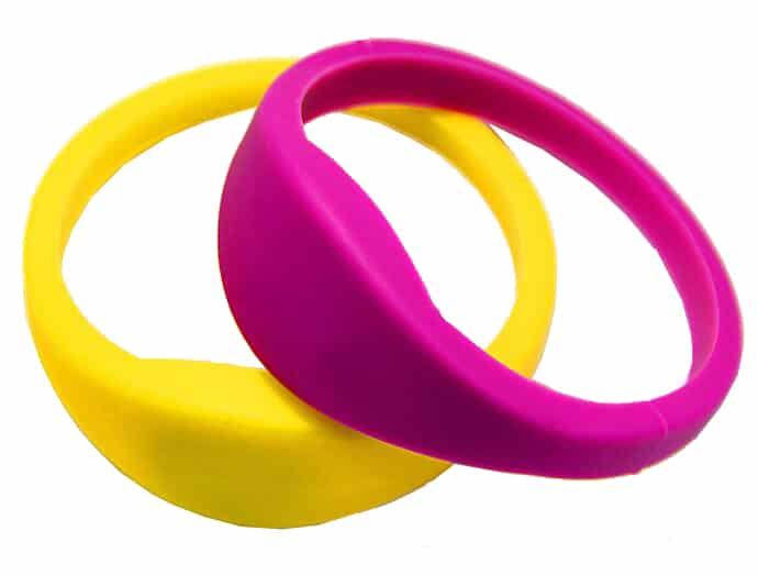 wristband rfid silicone