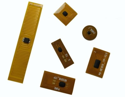 RFID asset tag for inventory management and tracking