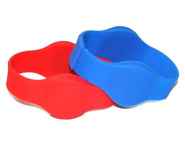 double frequency rfid silicone wristband