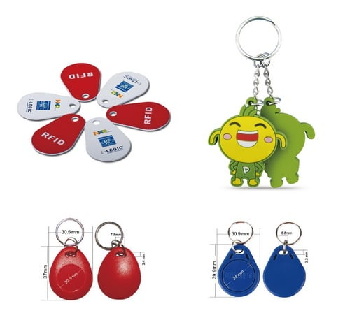 Rfid Key Fob Is The Access To The Door Lock Rfid Tags Factory